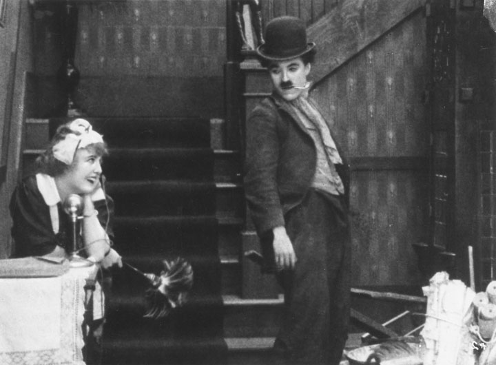 sight gags and charlie chaplin essay Charlie chaplin and mr bean epitomize silence  silent comedy is now more popularly known as slapstick or sight gags and is still being used today in.